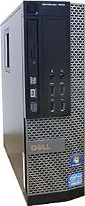 中古パソコン デスクトップ DELL OptiPlex 7010 SFF Core i5 3550 3.30GHz 4GBメモリ 500GB Sマルチ Windows7 Pro 搭載 正規リカバリーディスク付属 動作保証30日間