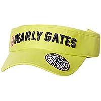 (パーリーゲイツ) PEARLY GATES [ 男女兼用 ] 定番系 PG ロゴ ツイル バイザー (サイズ調整可能) 053-8187414