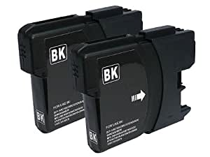 ≪ 2個 セット ≫ ブラザー Brother LC 11BK ( 黒 ) 互換 インク