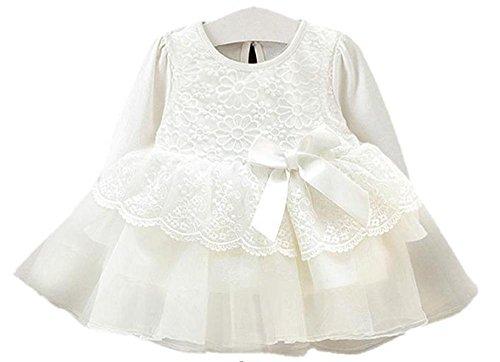 (エカイズ) EKA*is... 花柄 刺繍 が かわいい 長袖 ベビードレス 誕生日 結婚式 ヘア...