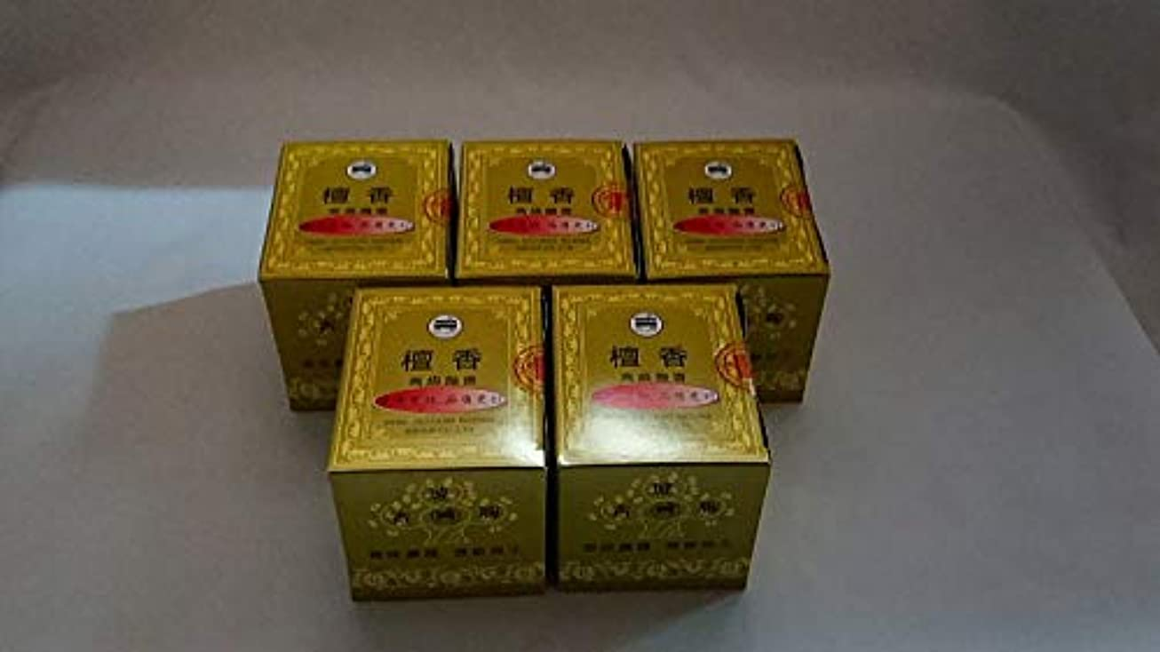 ルアーテクニカル見つけた檀香5箱まとめて 240巻き