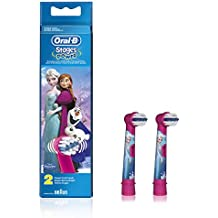 Oral-B Stages Frozen Replacement Electric Toothbrush Heads Refills, 2 pack