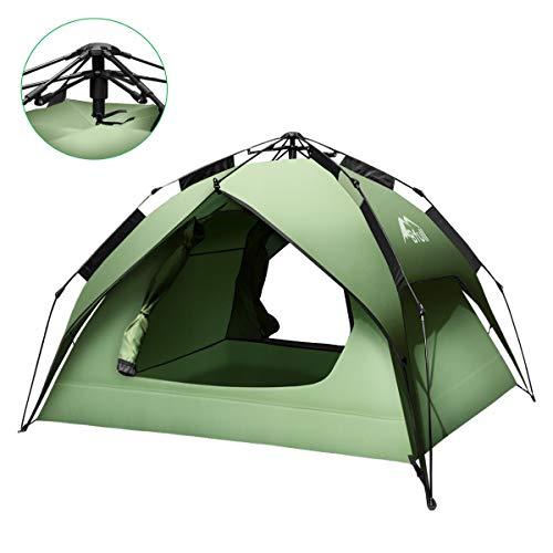 Bfull テント ワンタッチテント キャンプテント 設営簡単 2~4人用 ...