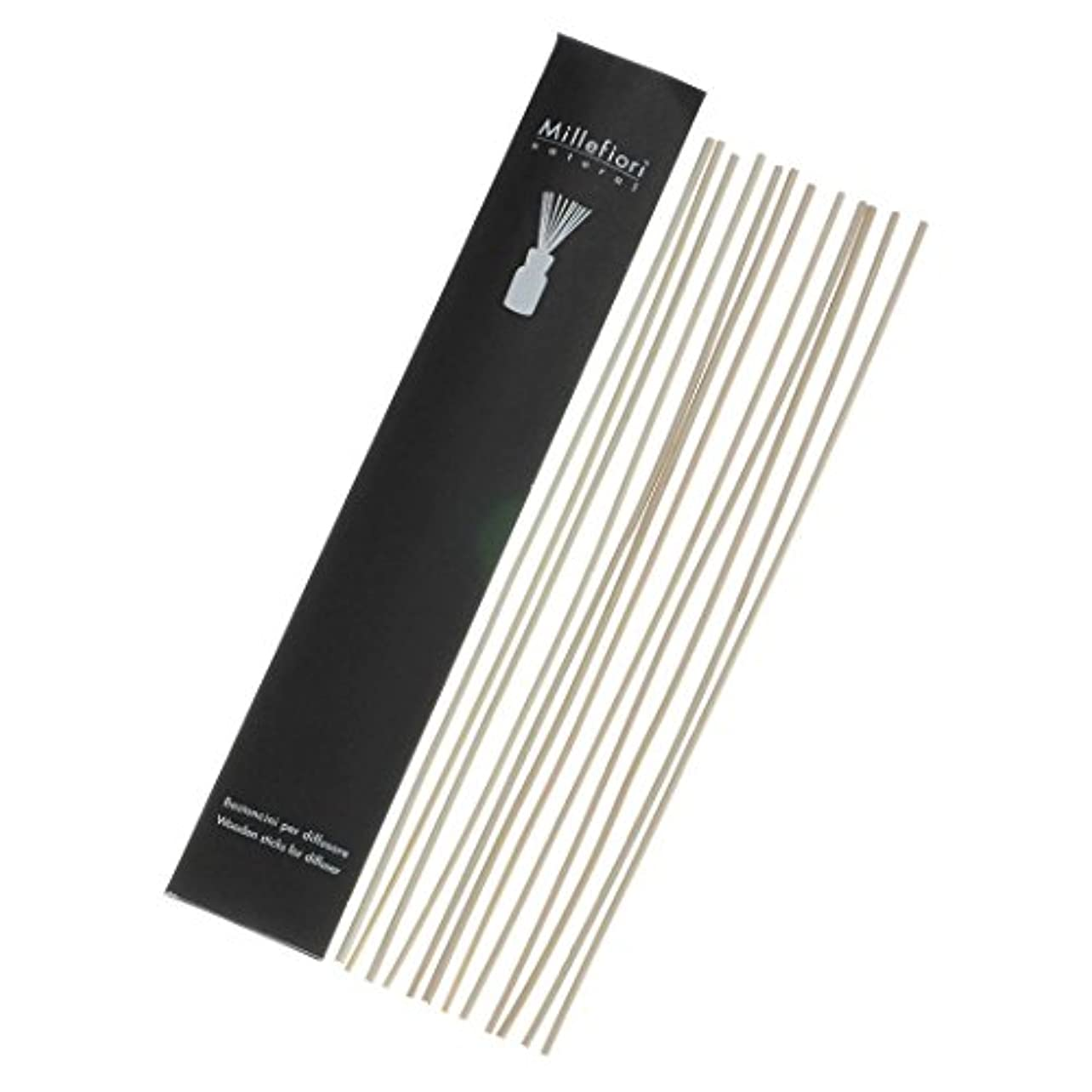緩める嫌がる食べるMillefiori Naturalシリーズ リードディフューザー Lサイズ用 交換用スティック STK-NL-001
