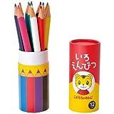 こどもちゃれんじの 色鉛筆 12色