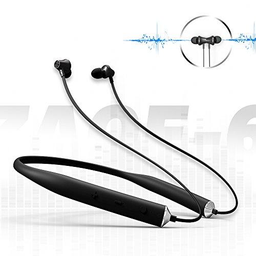 Bluetoothイヤホンマイク付きネックバンド式ワイヤレススポーツイヤホン騒音抑制軽型ジム&トレーニング用