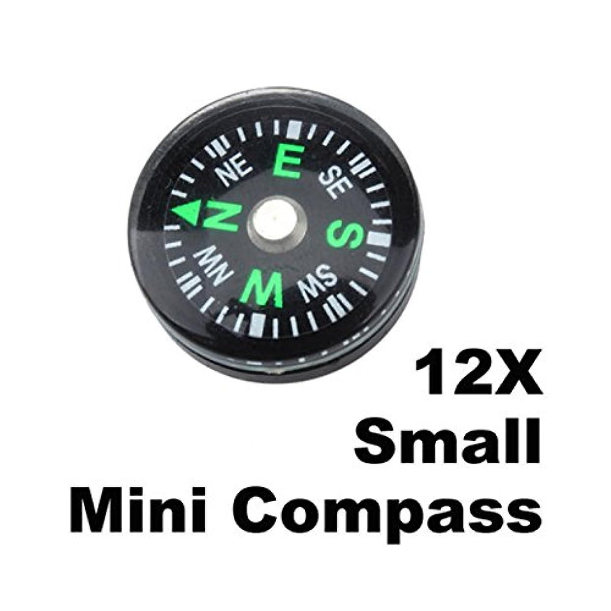 シードぶどう今12 pc 20 mm ( 12ピース/ロット) Small Miniコンパスキーチェーン旅行ポインティングガイドサバイバル緊急人生Tactical完全に人気アウトドアハンティング防水ホイッスルナイフバックパックジオメトリマップツールキット