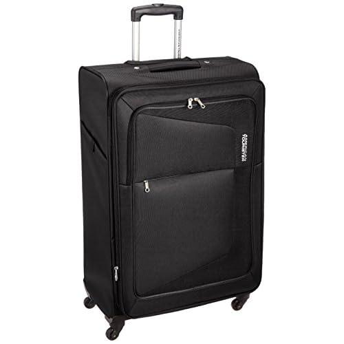 [アメリカンツーリスター] AmericanTourister スーツケース COSTA コスタ スピナー76 113L/124L 4.6kg 拡張機能 無料預入受託サイズ 保証付 75W*09003 09 (ブラック)