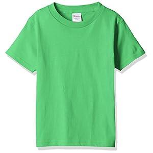 [プリントスター] 半袖 キッズ 5.6oz ヘビーウェイトTシャツ 00085-CVT_K ブライトグリーン 140cm (日本サイズ140相当)