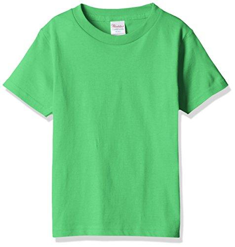[プリントスター]半袖 5.6オンス へヴィー ウェイト Tシャツ 00085-CVT ブライトグリーン 100cm [キッズ]