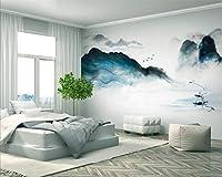 Minyose 壁紙 カスタム写真の3D壁紙壁画手描き熱帯植物フラミンゴサボテンの背景壁の壁画3 Dの壁紙-9