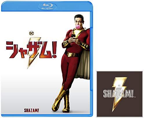 【Amazon.co.jp限定】【メーカー特典あり】シャザム! ブルーレイ&DVDセット (2枚組)(DC×モンキー・パンチ オリジナルステッカー付) [Blu-ray]