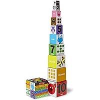 Melissa & Doug Nesting and Stacking Blocks :、数字、形状と色