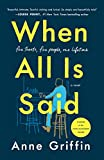 When All Is Said: A Novel (English Edition)