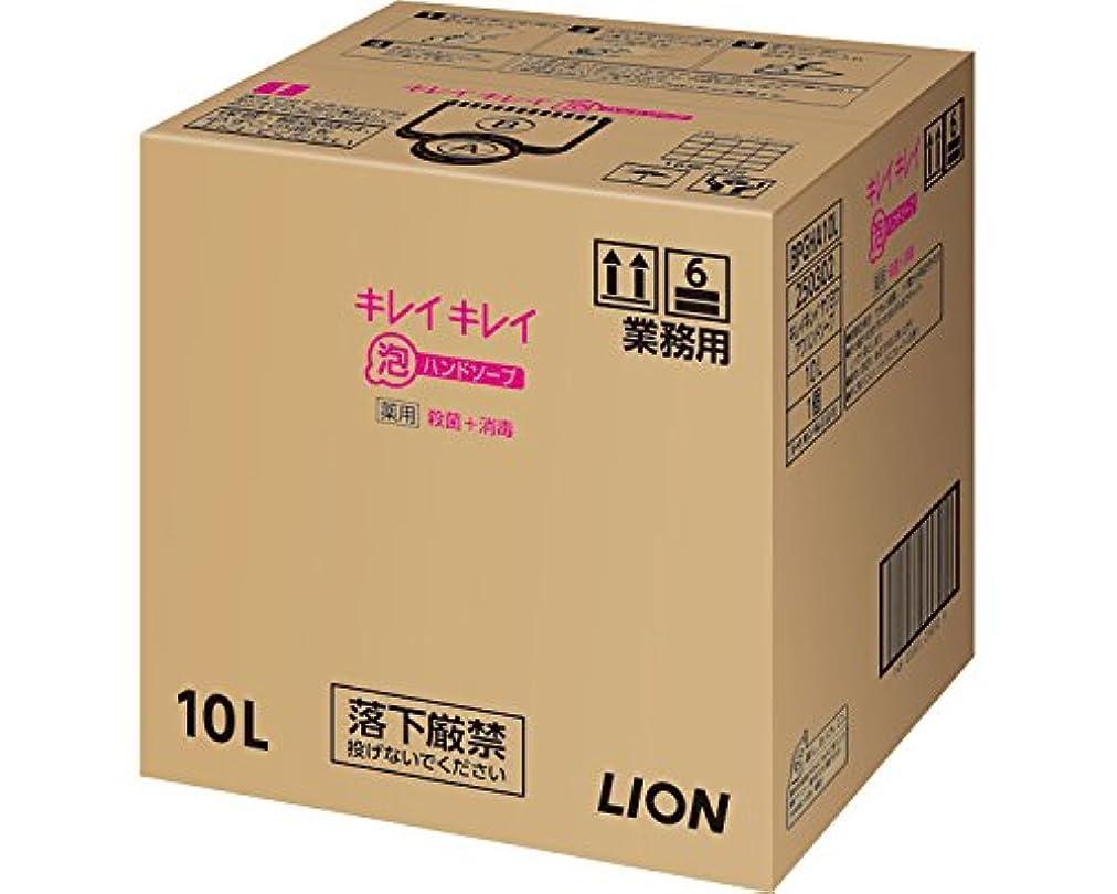 比喩応答バターキレイキレイ薬用泡ハンドソープ 10L (ライオンハイジーン) (清拭小物)