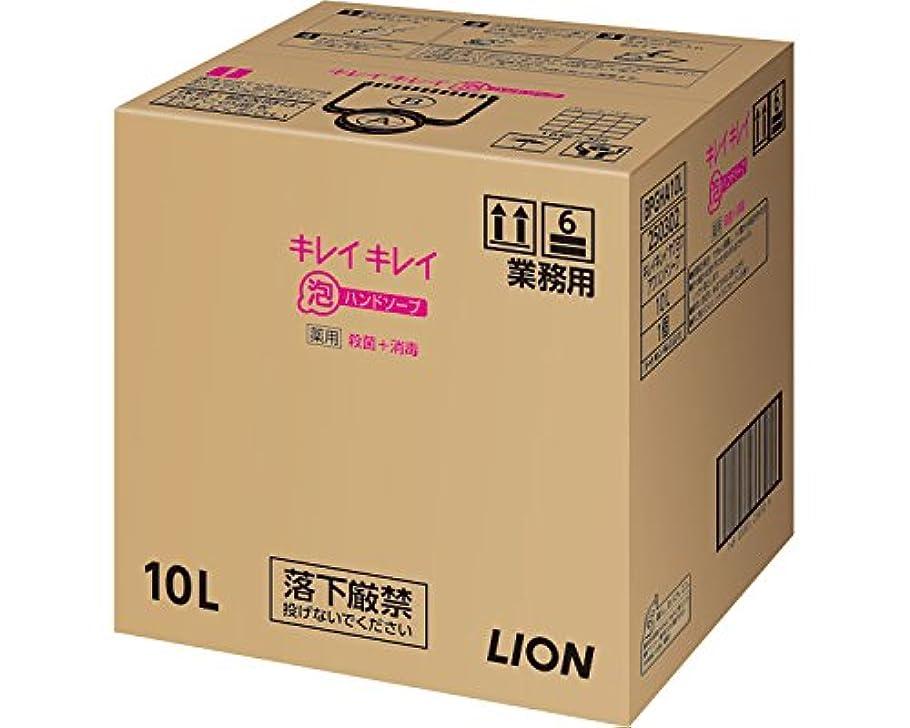キレイキレイ薬用泡ハンドソープ 10L (ライオンハイジーン) (清拭小物)