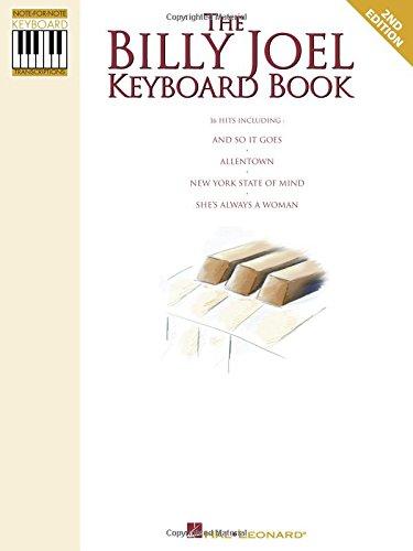 The Billy Joel Keyboard Book: ...