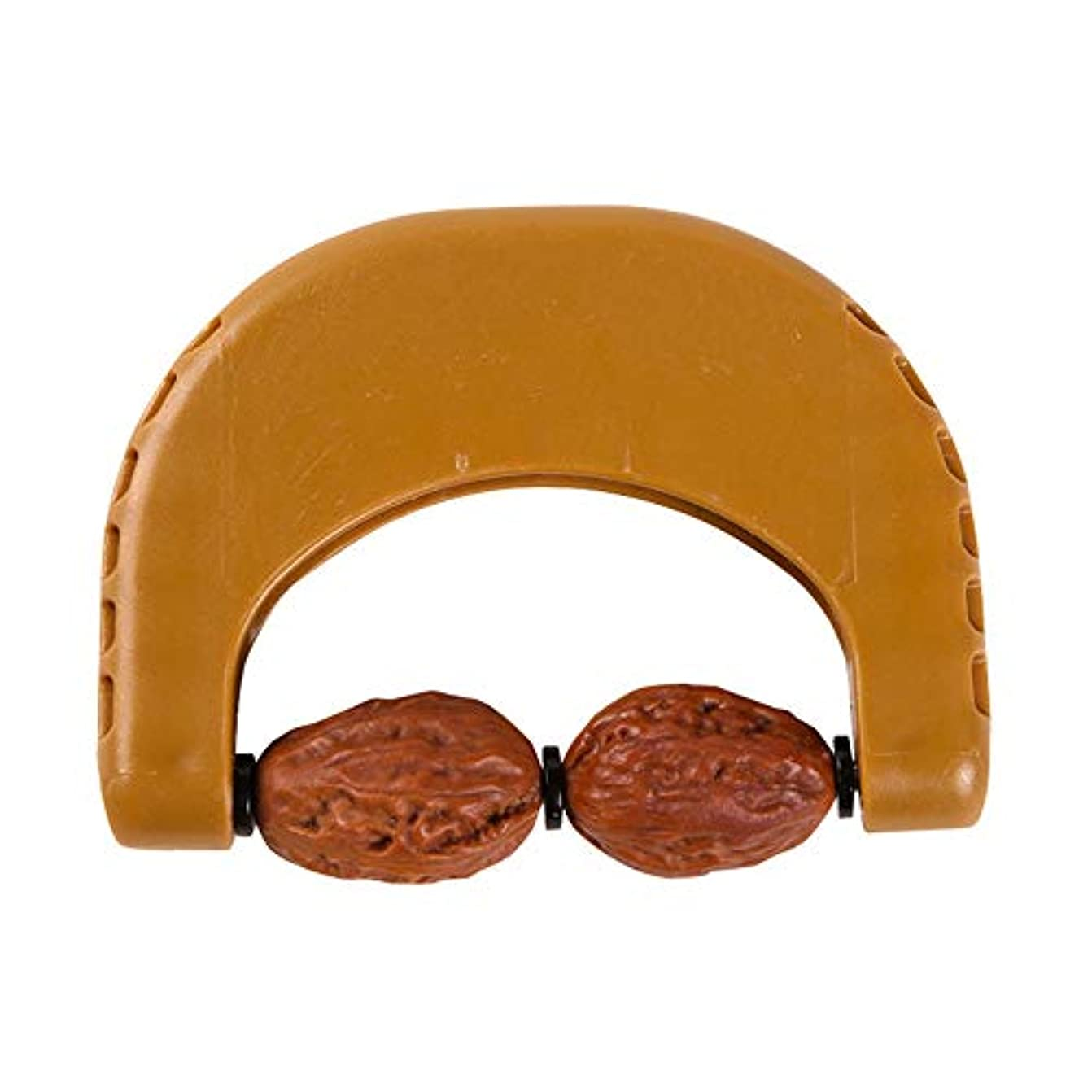 交換可能エジプト長々と手動ネック子宮頸マッサージ器、角度ホブ、ローラー設計、ADSプラスチックハンドル、防水性と耐摩耗性、経絡を通過、健康な体