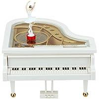 【ノーブランド 品】機械的 音楽 玩 ピアノ オルゴール バレエダンサー 音楽 玩具 ギフト 装飾