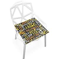 座布団 低反発 雑誌 ハロウィン ビロード 椅子用 オフィス 車 洗える 40x40 かわいい おしゃれ ファスナー ふわふわ fohoo 学校