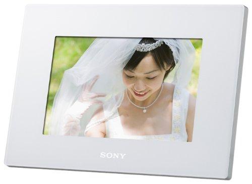 SONY (ソニー) デジタルフォトフレーム S-Frame D720 7.0型 内蔵メモリー2GB ホワイト DPF-D720/W B0047AHH78 1枚目