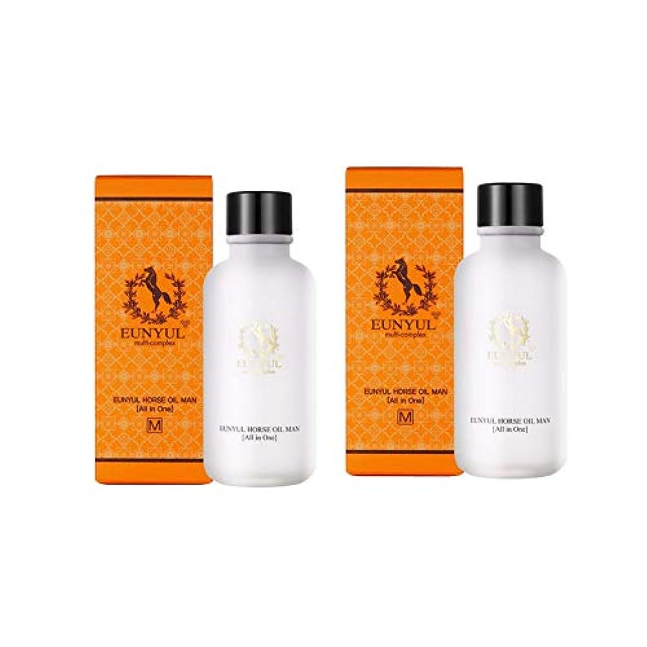 実際のブリード排出Eunyul馬油オールインワン125mlx2本セットメンズコスメ韓国コスメ、Eunyul Horse Oil All in One 125ml x 2ea Set Men's Cosmetics Korean Cosmetics...