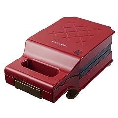 レコルト プレスサンドメーカー キルト recolte PRESS SAND MAKER Quilt [ レッド / RPS-1(R) ] ホットサンドメーカー