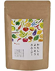 ファンファレ わたしとよりそうスムージー 酵素入り グリーンスムージー [ホワイトチアシード 酵素] 栄養補給 150g