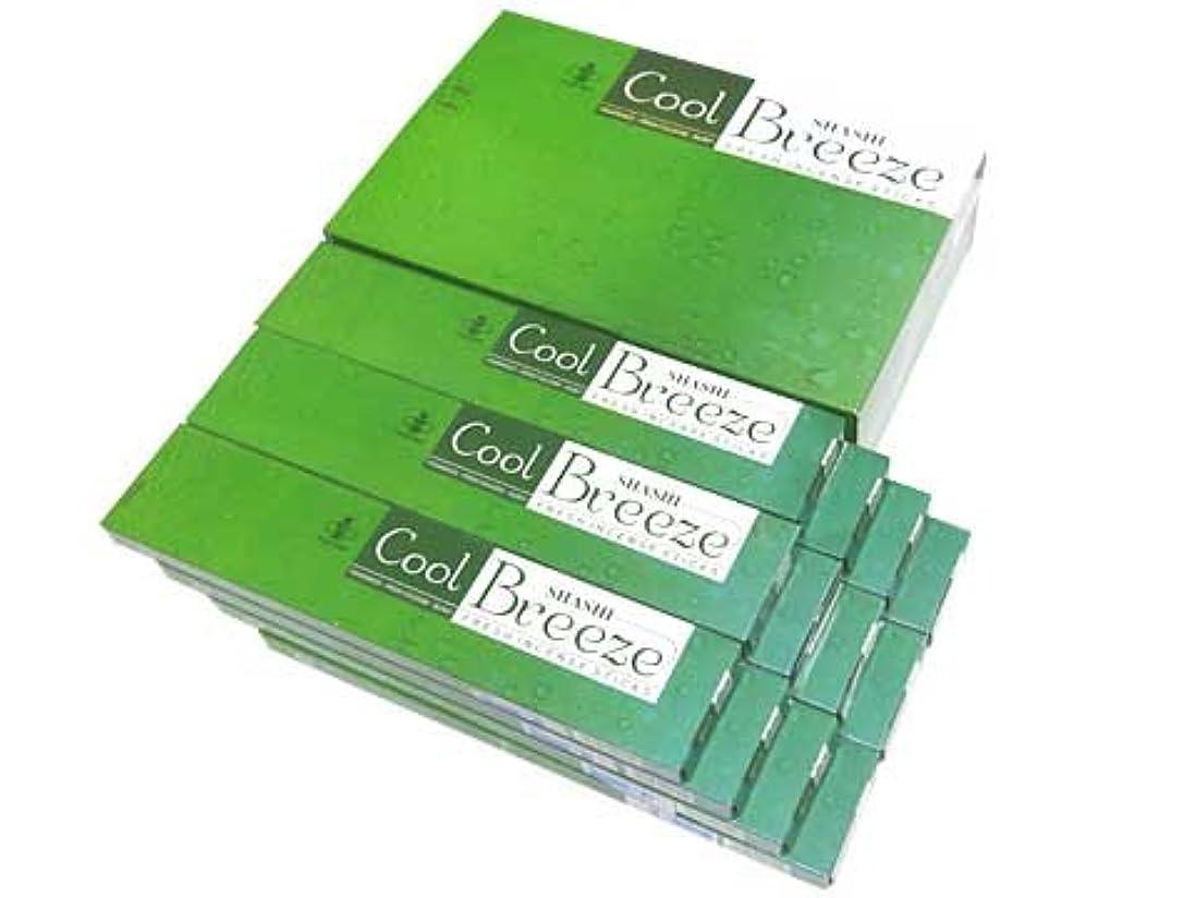 最近はぁ器具SHASHI(シャシ) クールブリーズ香 スティック COOL BLEEZE 12箱セット