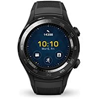 HUAWEI Watch 2 /SPORT/NON-4G カーボンブラック 【日本正規代理店品】 WATCH 2/Sport/LEO-B09/Carbon Black