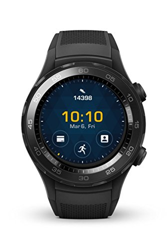 HUAWEI Watch 2 SPORT NON-4G カーボンブラック WATCH 2/Sport/LEO-B09/Caron black 【日本正規代理店品】