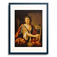 Elisabetta Sirani 「Allegory of painting (Self-portrait). 1658.」 額装アート作品