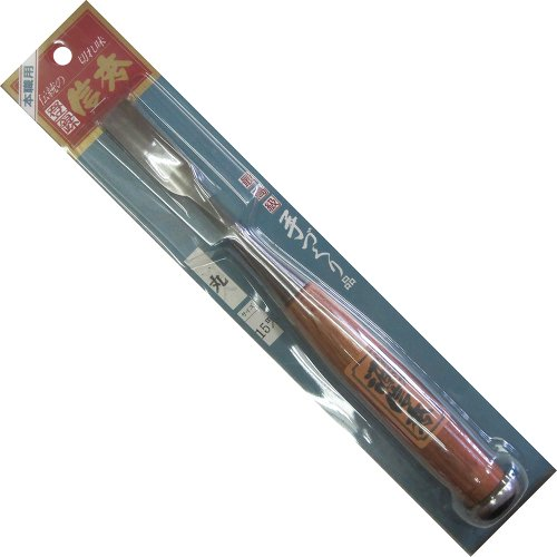 TOOL) 信秀 木彫りノミ 丸 15mm