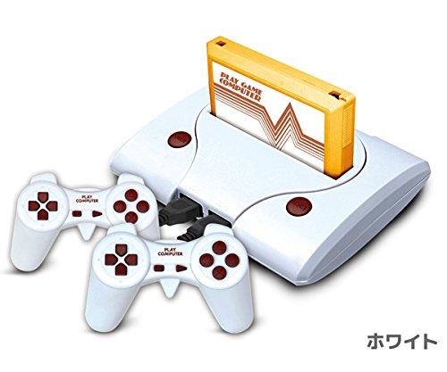 118プレイコンピューター ファミコン互換機 ゲーム内蔵 ファミリーコンピューター ゲーム機 KA-00280 (ホワイト)