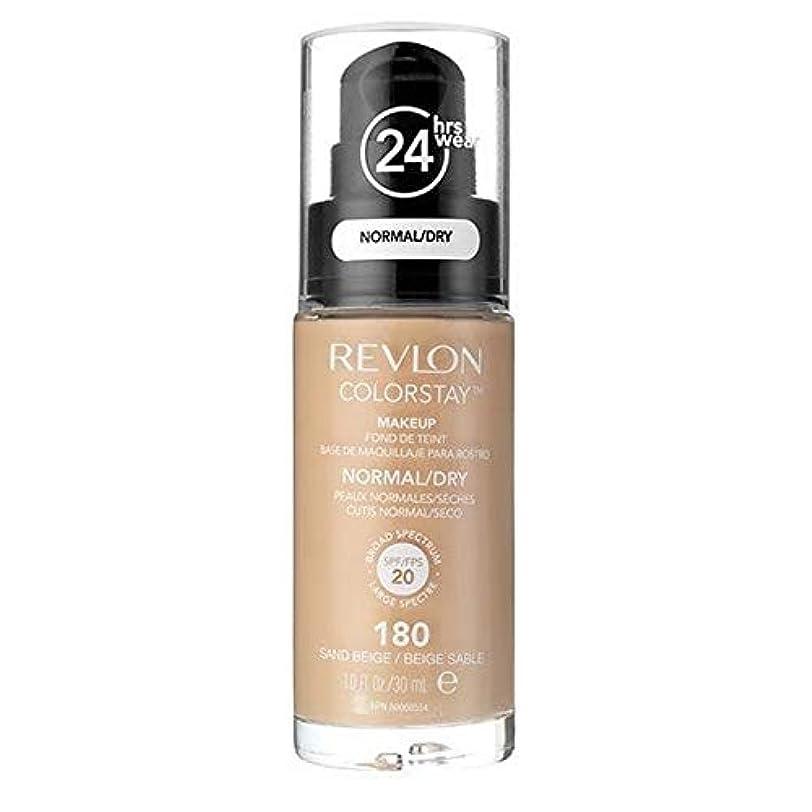 商品深遠作物[Revlon ] レブロンカラーステイ基盤ノルム/乾燥砂ベージュ30ミリリットル - Revlon Color Stay Foundation Norm/Dry Sand Beige 30ml [並行輸入品]