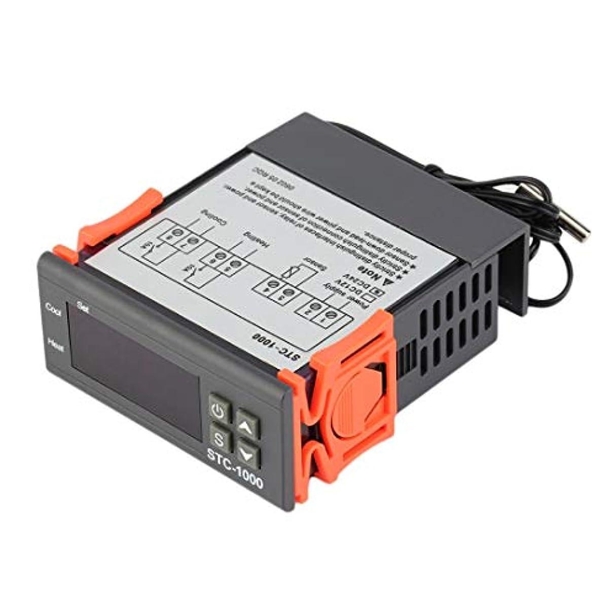 ブレーキフォーマット計画Swiftgood センサ付き2リレー出力デジタル温度コントローラサーモスタット