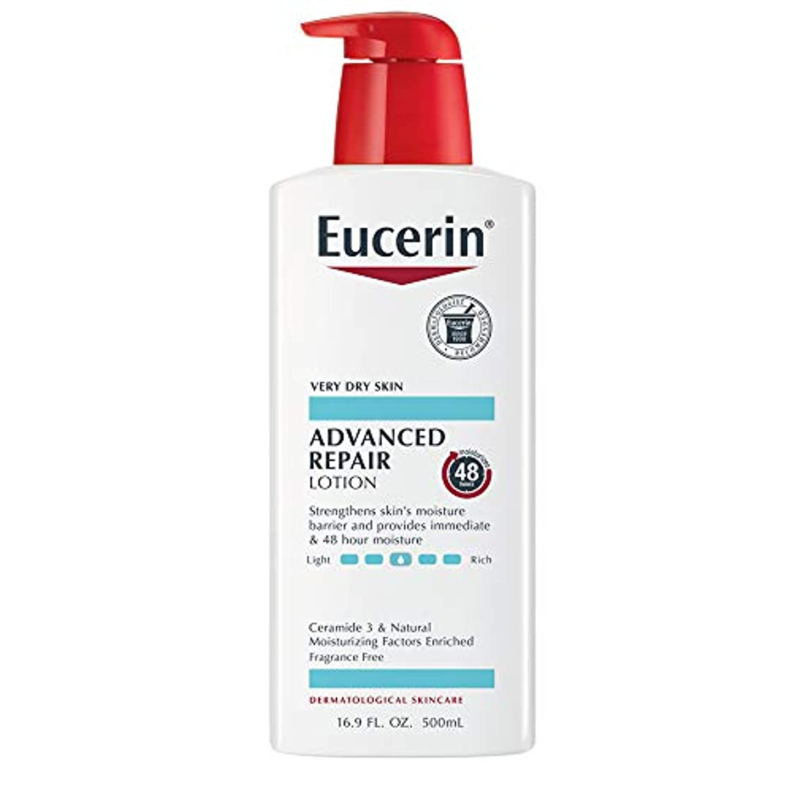 周波数逆さまに混乱させるEucerin Plus Smoothing Essentials Fast Absorbing Lotion 500 ml (並行輸入品)