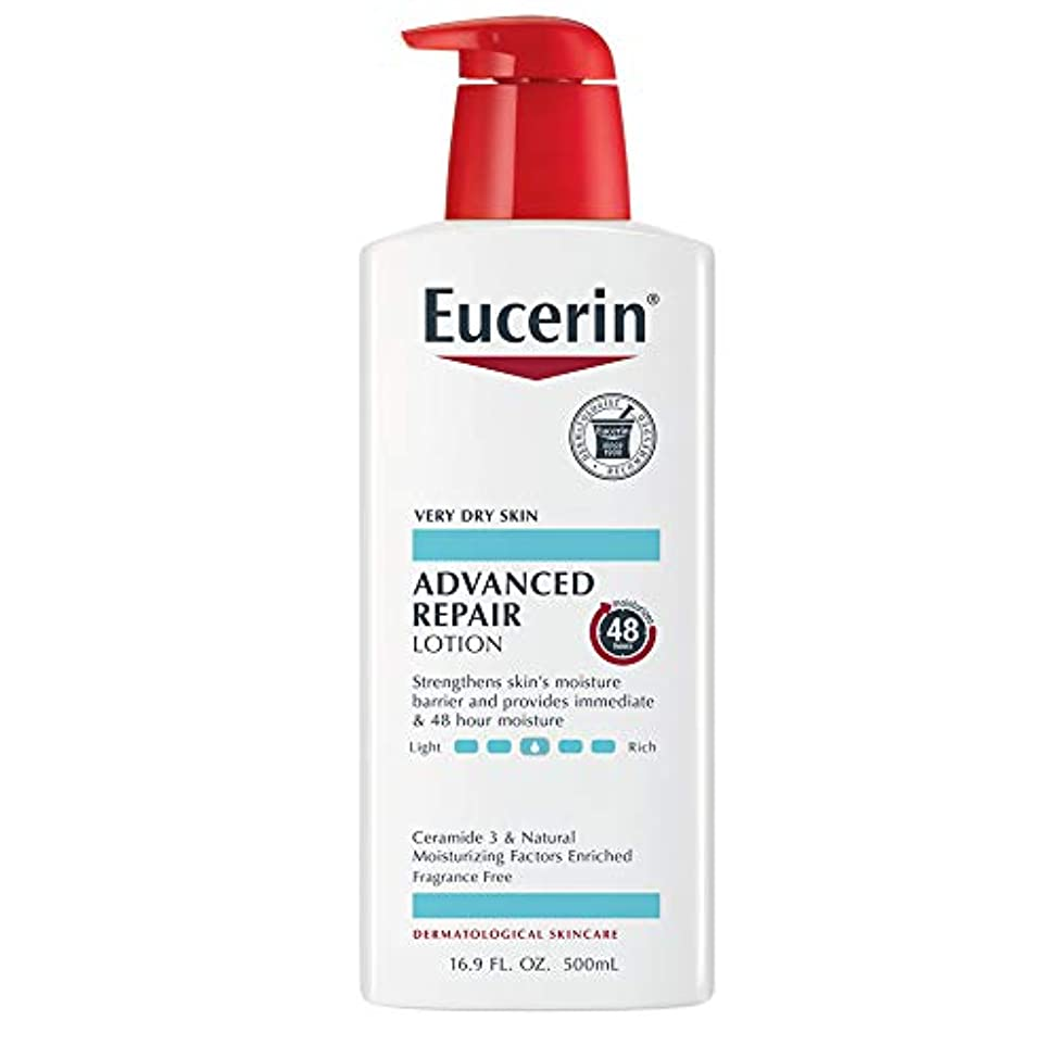 第不毛流暢Eucerin Plus Smoothing Essentials Fast Absorbing Lotion 500 ml (並行輸入品)