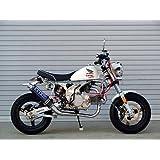 オーヴァーレーシング(OVER RACING) フルエキゾーストマフラー レーシングダウン カーボンマフラー MONKEY Z50J [モンキー] 13-01-35