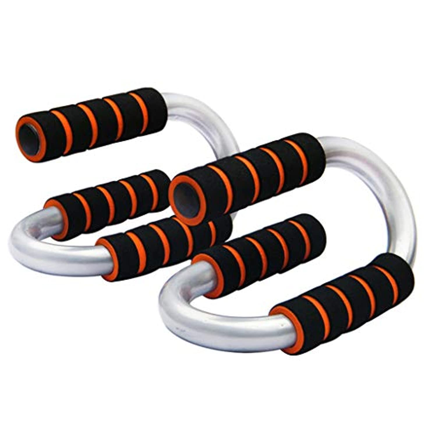 タックパッチスナップS型腕立て伏せ、ホームフィットネス機器、腕胸のトレーニング腕立て伏せのサポート、美しいギフト (Color : Black, Size : 12cm)