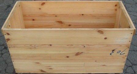 りんご木箱 中古集成材B 64×31×31 道具箱、保管箱に・・・ノーブラン...