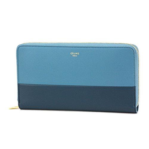 セリーヌ(CELINE) 105013 XTM 06BM 長財布 ブルー/水色[並行輸入品]