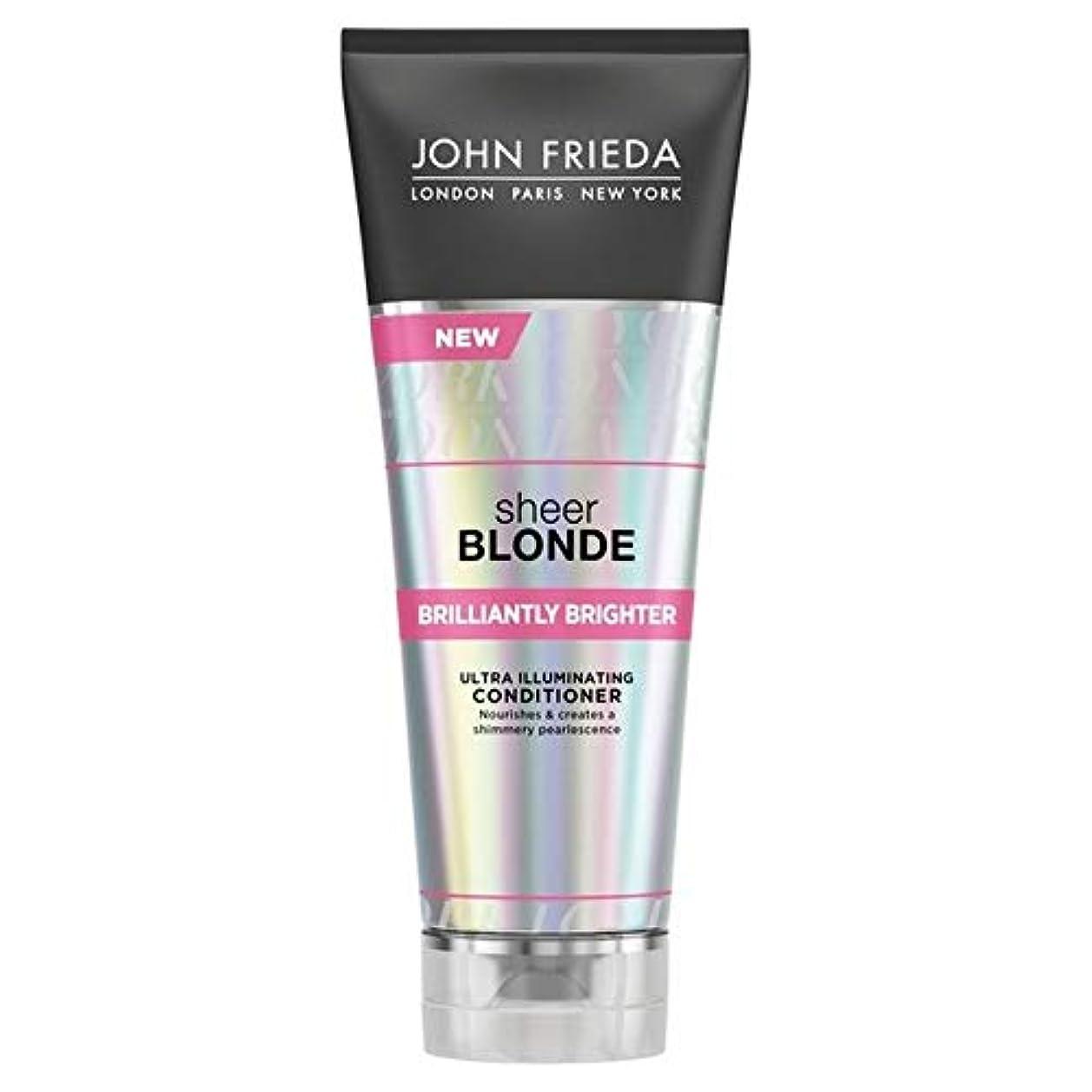クスクス自分ボード[John Frieda ] ジョン?フリーダ膨大なブロンド見事に明るくコンディショナー250Ml - John Frieda Sheer Blonde Brilliantly Brighter Conditioner...