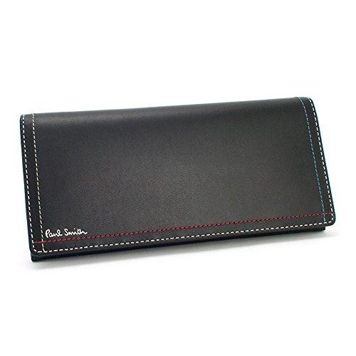 ポールスミス 財布 長財布 メンズ 牛革 PSK708 メンズ (ブラック)