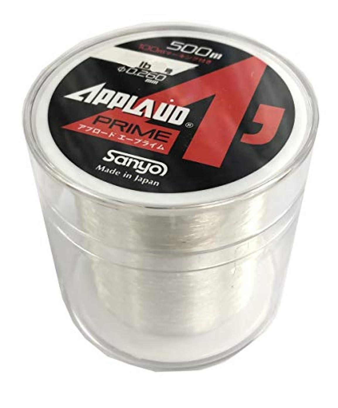 無し中毒電圧サンヨーナイロン ライン アプロード Aプライム ルアーフィッシング用ボビン巻ナイロンライン 12LB 3号 500m 12LB 3号 500m