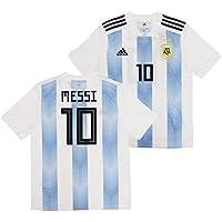 adidas(アディダス) アルゼンチン代表 2018 ホーム 半袖 ユニフォーム ジュニア No.10 メッシ BQ9288/10M