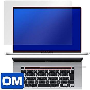 防指紋 防気泡 傷修復液晶保護フィルム MacBook Pro 16インチモデル Touch Barシートつき 用 日本製 OverLay Magic OMMBP16TB/1