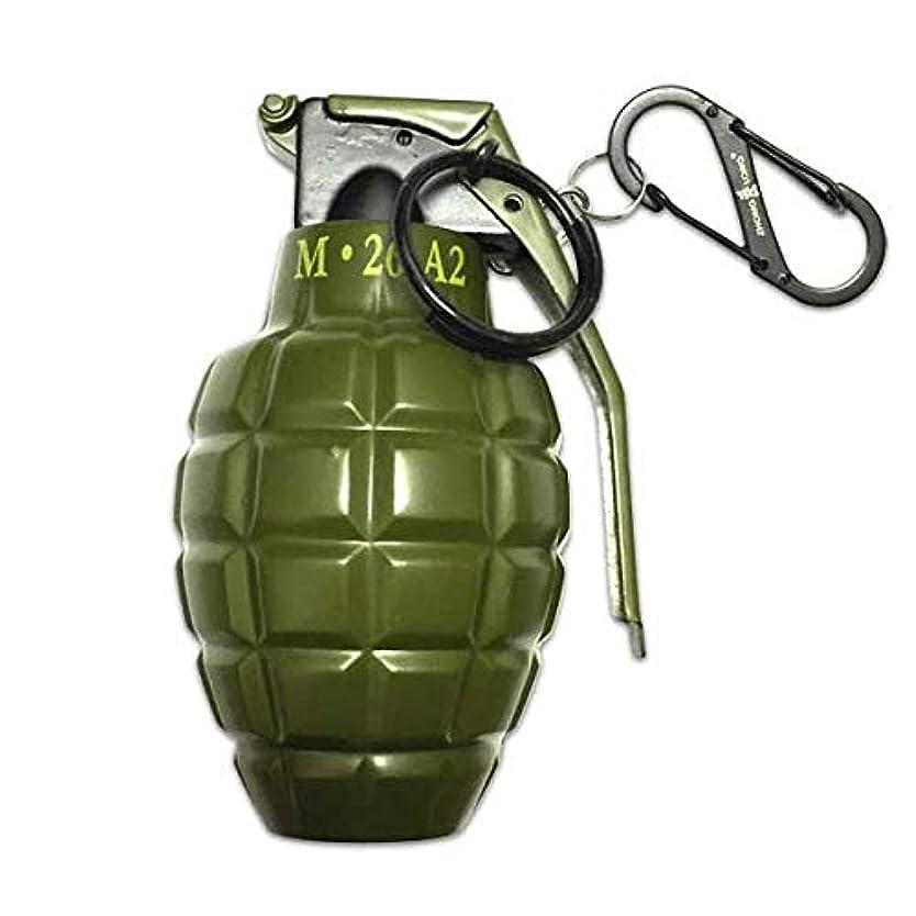 邪魔使用法バックアップ手榴弾型 ライター グレネードターボライター アメリカン雑貨 アメ雑
