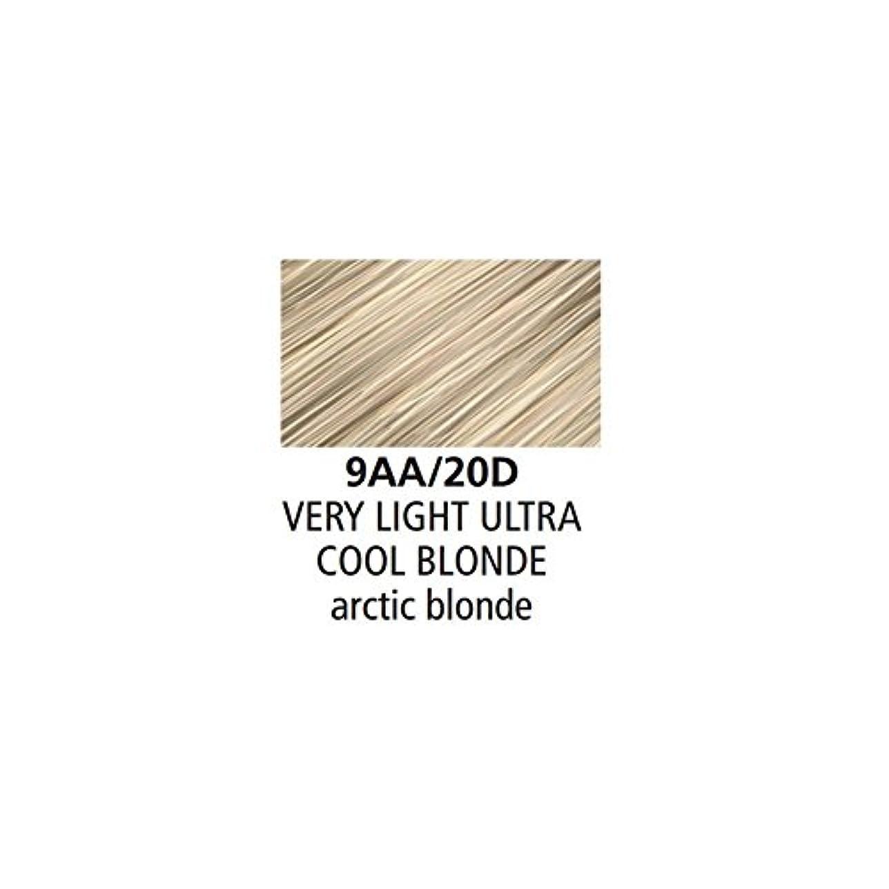 忘れられない深遠消毒剤Clairol Professional - SOY4PLEX - Liquicolor Permanente - Very Light Ultra Cool Blonde - 9AA/20D - 2 oz / 59 mL
