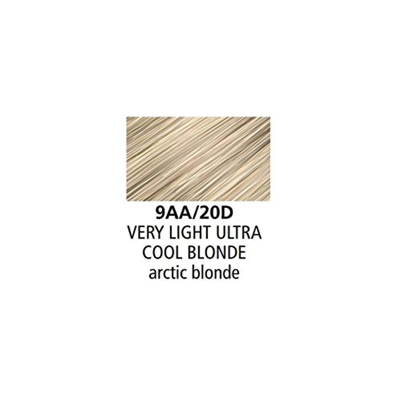 許可する助手一定Clairol Professional - SOY4PLEX - Liquicolor Permanente - Very Light Ultra Cool Blonde - 9AA/20D - 2 oz / 59 mL